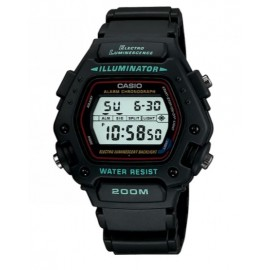 Casio Mens Multi Function Digital Black Resin