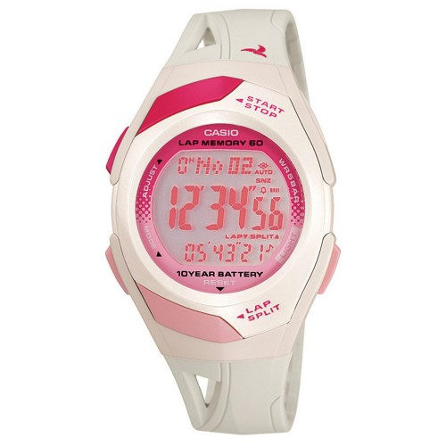 Casio Womens Runner Eco Friendly Digital Watch