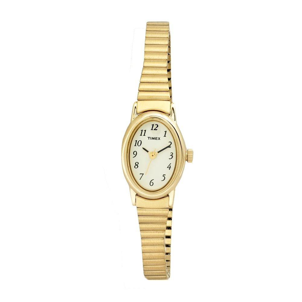 timex womens cavatina gold tone expansion timex