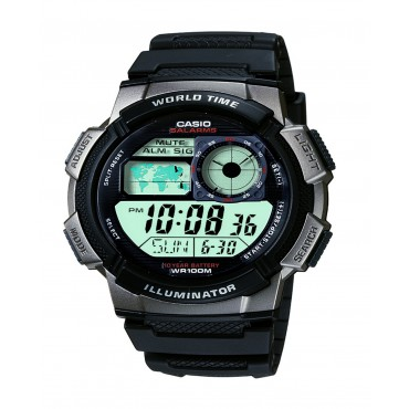 Men's Casio Black Digital/Analog Watch