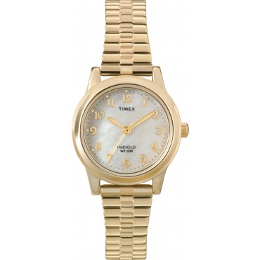 Timex Womens Goldtone Expansion Band Watch