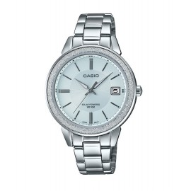 Casio Women's Silver-Tone Stainless Steel