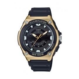 Casio Men's MWC-100H-9AVCF Quartz Black Gold