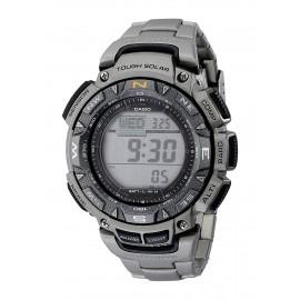 Casio Men's PAG240T-7CR Pathfinder Triple-Sensor