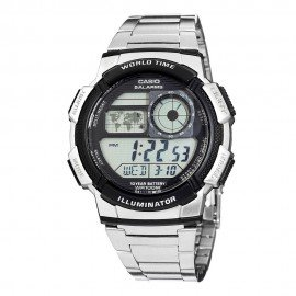 Casio Men's AE1000WD-1AVCF Silver-Tone Digital