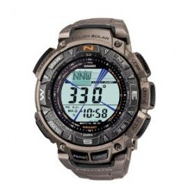 Casio Men's PAG240T-7CR Pathfinder Triple-Sensor