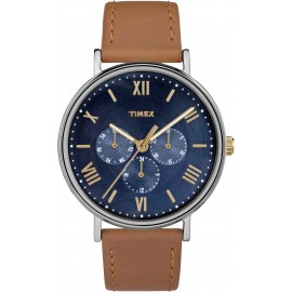 Timex Unisex Southview 41mm Multifunction Leather