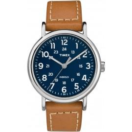 Timex Men's TW2R42500 Weekender 40 Brown/Blue