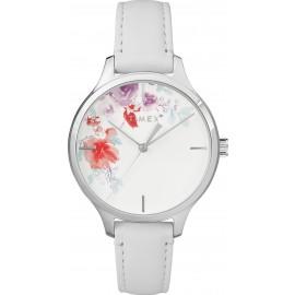 Timex TW2R66800 Women's Swarovski White Leather