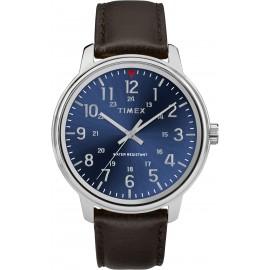 Timex TW2R85400 Men's Brown Leather Strap Watch