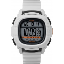 Timex Men's TW5M26400 BST.47 White Silicone Strap
