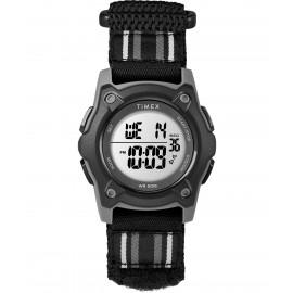 Timex TW7C26400 Youth Digital Black/Grey Striped