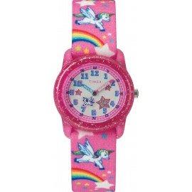 Timex TW7C25500 Youth Pink Rainbows/Unicorns