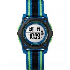 Timex TW7C26000 Youth Digital Blue/Green/Black