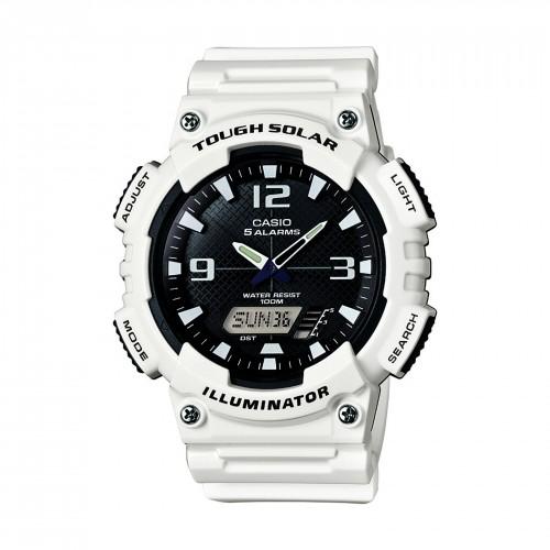 Casio Men's AQ-S810WC-7AVCF Analog-Digital Display Quartz White Watch