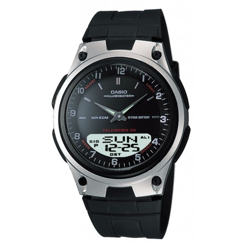 Casio Men's AW80-1AV Forester Ana-Digi Databank Watch