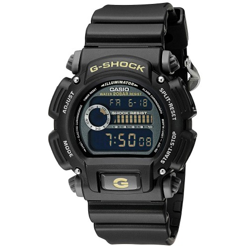 G-Shock DW-9052-1CCG Men's Black Military Watch