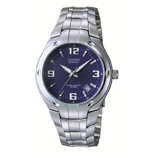 Casio Mens Stainless Steel Dress Watch