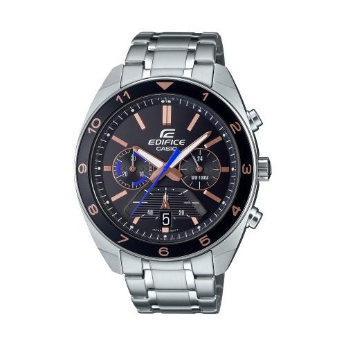 Casio Men's Standard Chronograph Stainless Steel Watch