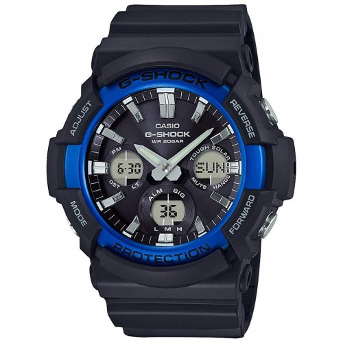 Casio Men's GAS100B-1A2 G-Shock Tough Solar Watch