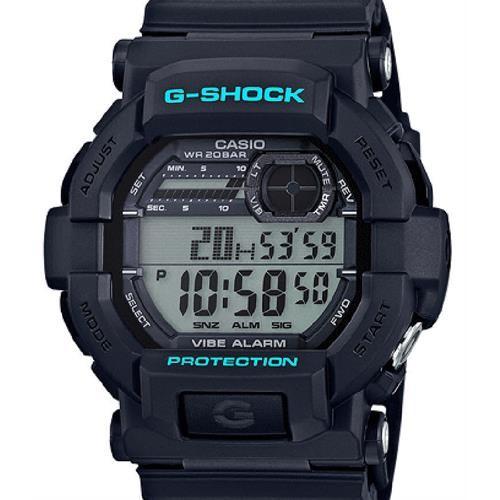 G-Shock GD350-1CCR Men's Black Resin Sport Watch