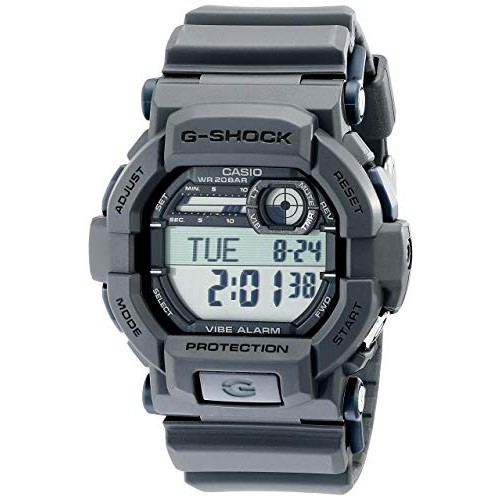 Casio Men's GD350-8 Black Resin Sport Watch