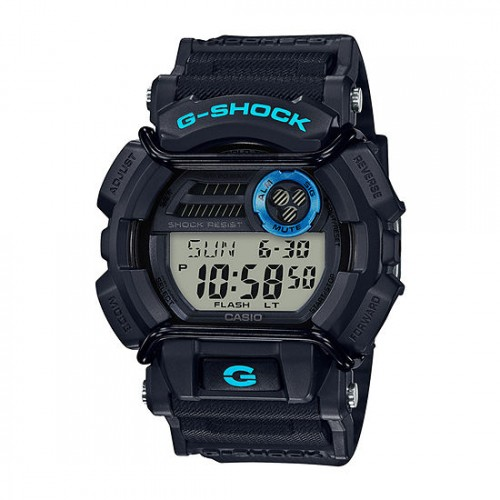 Casio Men's G-Shock GD400-1B2 BlackResin Sport Watch
