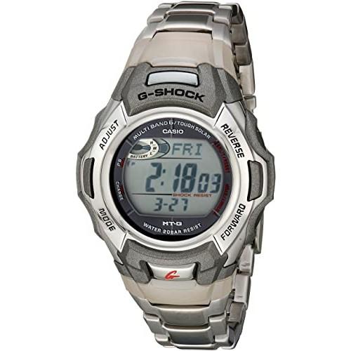 G-Shock MTGM900DA-8CR Men's Tough Solar Atomic Stainless Steel Sport Watch