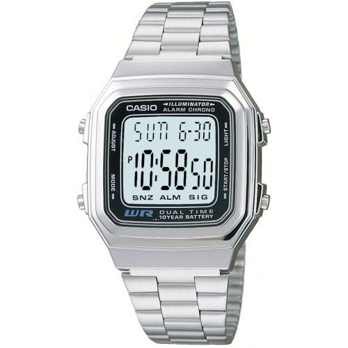 Casio Men's A178WA-1A Illuminator Watch