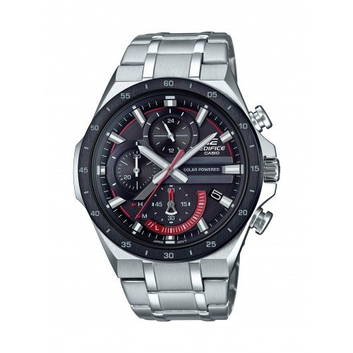 Casio Men's Edifice Tough Solar Stainless Wrist Watch