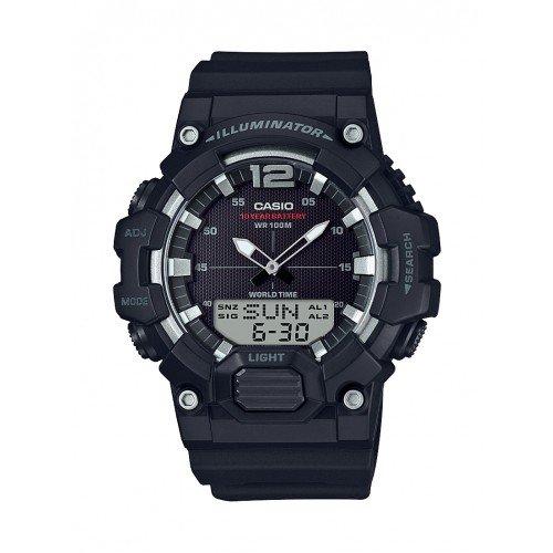 Casio Men's HDC700-1AV Analog Digital World Time Alarm Chronograph Telememo Watch