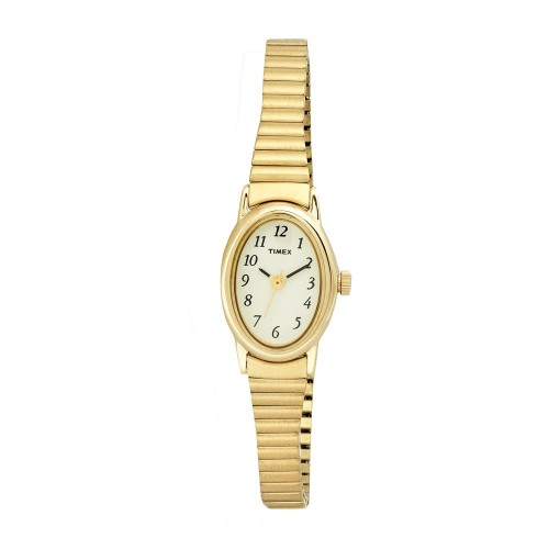 Timex Womens Cavatina Gold Tone Expansion Watch