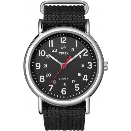 Timex Unisex T2N647 Black Weekender Casual Watch