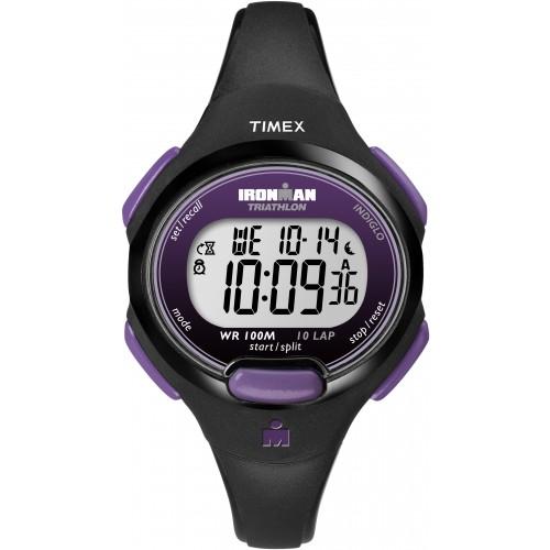 Timex Womens Ironmal Digital Purple Sport Watch