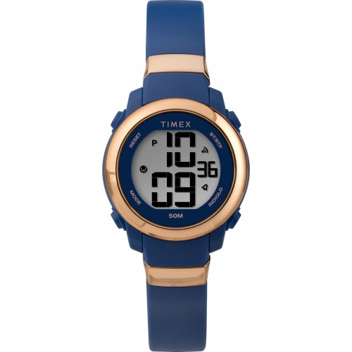 Timex Women's DGTL Women's Mini Digital 28 mm Resin Strap Watch