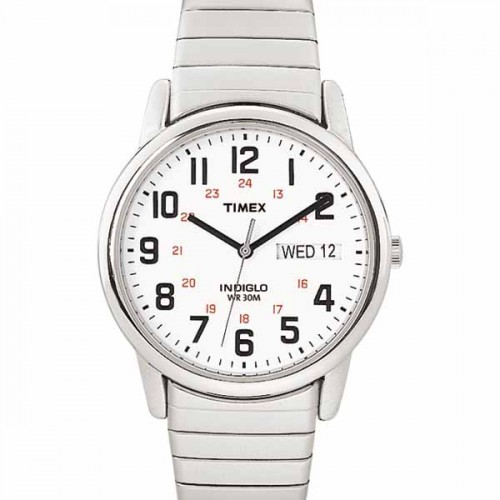Timex Mens Easy Reader Expansion Band Watch