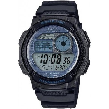 Casio Men's Illuminator World Time Watch
