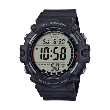 Casio Men's AE1500WH-1AV Wide Face Digital Black Resin Strap Watch
