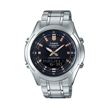 Casio Mens Analog Digital Combination Dress Watch