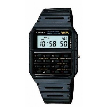 Casio Mens 8 Digit Calculator Watch