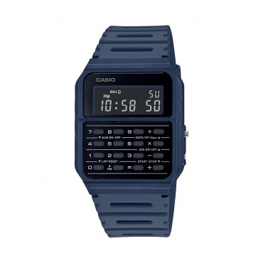 Casio Men's Navy 8 Digit Calculator Watch