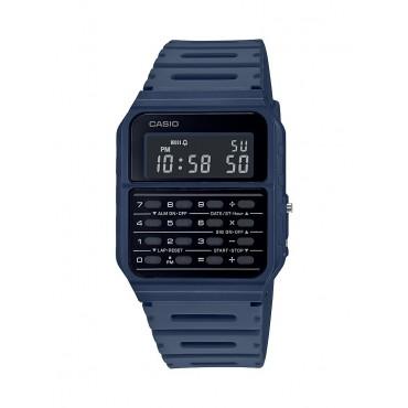 Casio Men's Navy 8 Digit Calculator Watch
