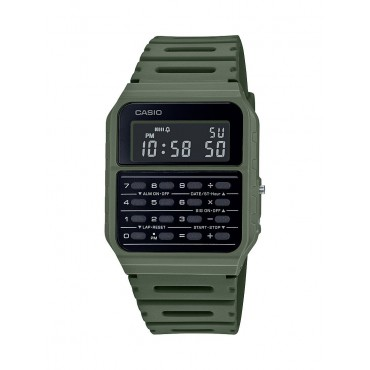 Casio Men's Green 8 Digit Calculator Watch