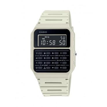 Casio Men's White 8 Digit Calculator Watch