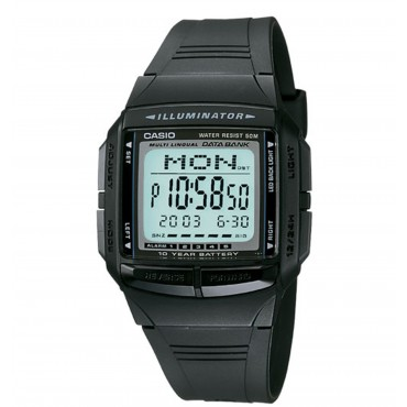 Casio Mens Multilingual Databank Watch