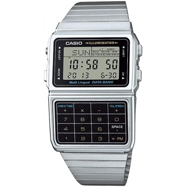Casio Men's Stainless 8 Digit Calculator Watch