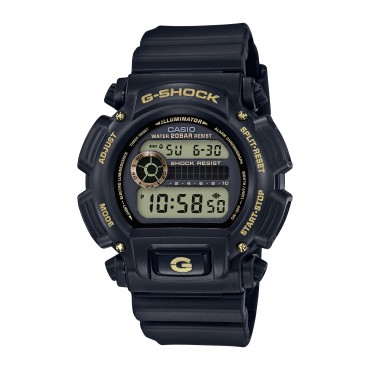 Casio Men's G-Shock Alarm Black Digital Watch