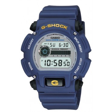 Casio Men's G-Shock Digital Blue Strap Watch