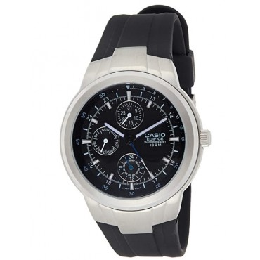 Casio Men's Edifice Multifunction Resin Band Watch
