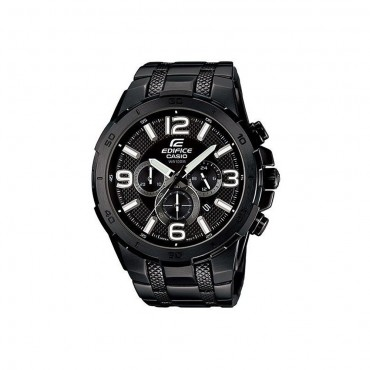 Casio Edifice Black Chrono Stainless Steel Watch